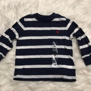 Ralph Lauren Striped LS Sz 9M